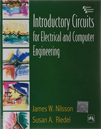9788120321168: Introductory Circuits for Electrical & Computer Engineering - Manual (02) by Nilsson, James W - Riedel, Susan A [Paperback (2001)]