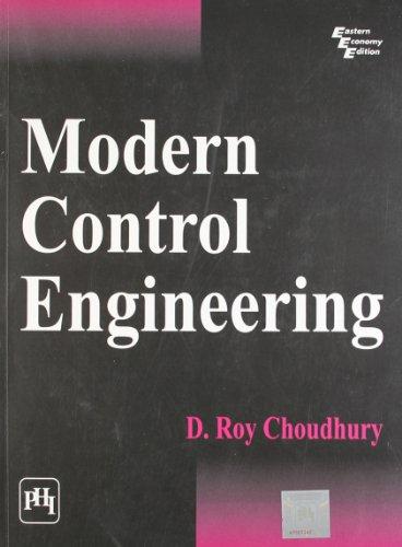 Modern Control Engineering: D. Roy Choudhury