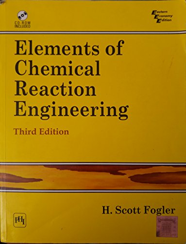 9788120322349: Elements of Chemical Reaction Engineering (4th Edition)
