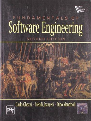 Fundamentals Of Software Engineering: GHEZZI CARLO