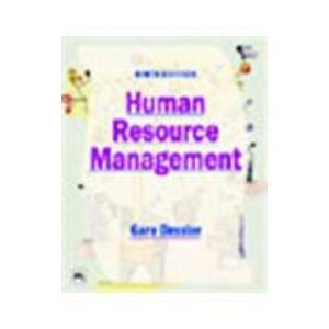9788120322646: Human Resource Management Edition: Ninth