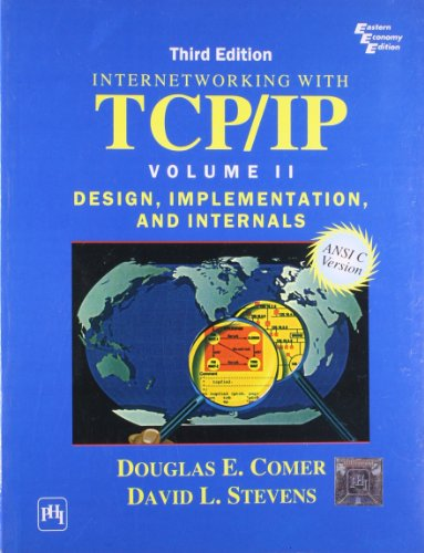 9788120322851: Internetworking with TCP/IP Vol. II: ANSI C Version: Design, Implementation, and Internals (3rd Edition)