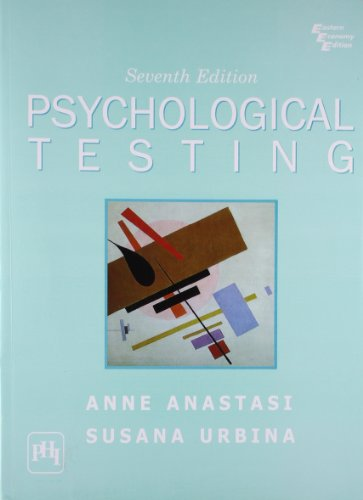 anne anastasi psychological testing pdf