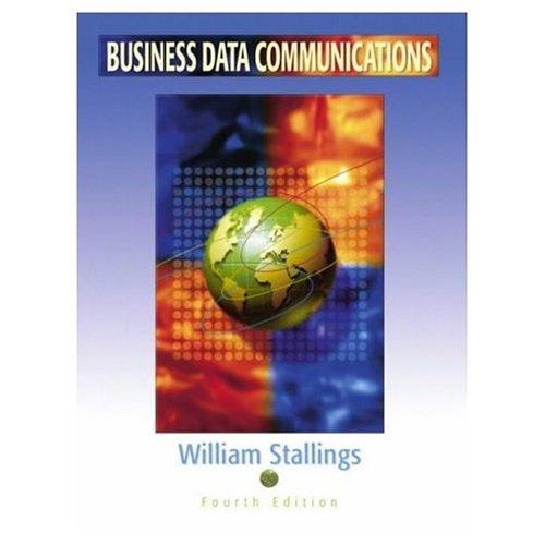 9788120323841: Business Data Communications, 4Th Ed.