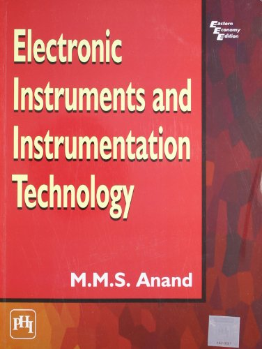 Electronic Instruments Books : Electronic instruments and instrumentation technology by a