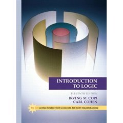 Introduction to Logic (812032496X) by Irving M. Copi