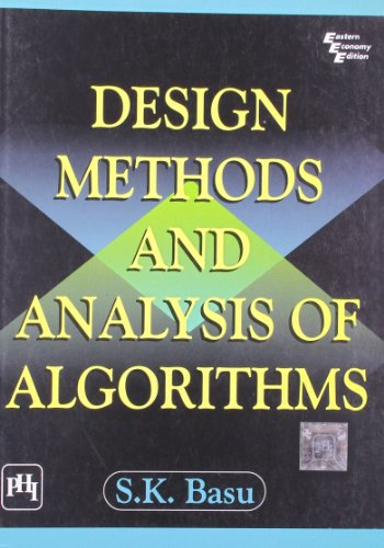 9788120326378: Design and Analysis of Algorithms