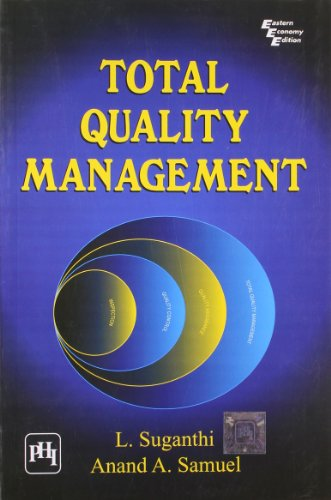 Total Quality Management: Samuel, Anand A.