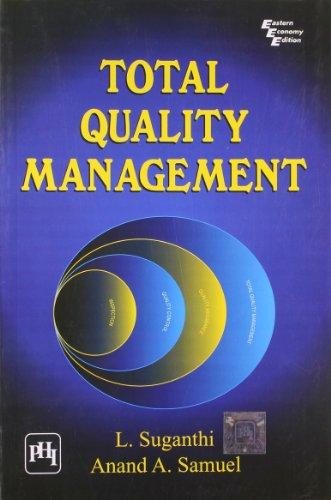Total Quality Management: Suganthi, L., Samuel,