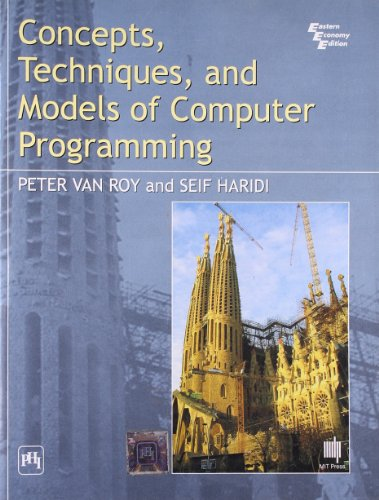 9788120326859: Concepts Techniques and Models of Computer Programing
