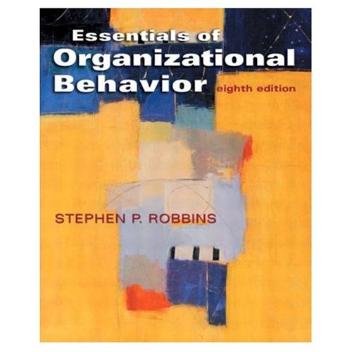 9788120327061: Essentials of Organizational Behavior