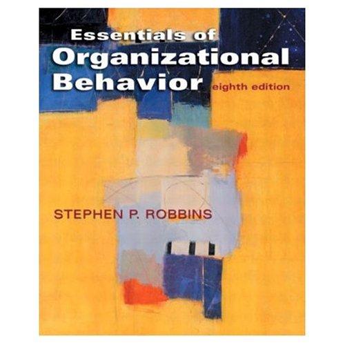 9788120327061: Essentials of Organizational Behavior