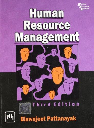 Human Resource Management: Pattanayak, Biswajeet