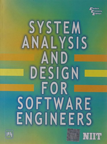 System Analysis and Design for Software Engineers: NIIT