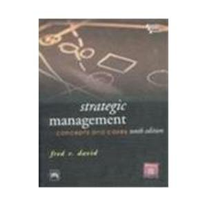 strategic management fred david 12th edition pdf free
