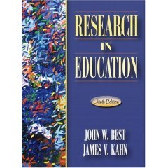 Research in Education: KAHN JAMES V.