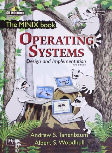 9788120329553: Operating Systems: Design And Implementation (The MINIX book)