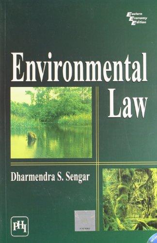 9788120330597: Environmental Law