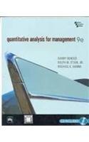 Quantitative Analysis for Management 9e: Prentice Hall India
