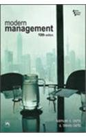 Modern Management (International Edition) Edition: tenth: Samuel C. Certo