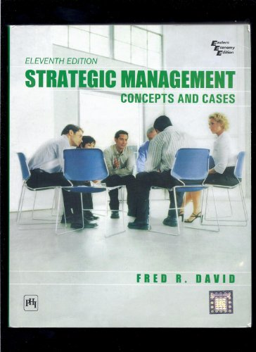 9788120331464: Strategic Management Concepts And Cases (Eleventh Edition)
