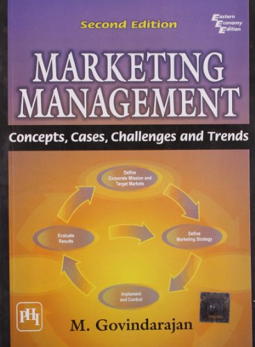 9788120332591: Marketing Management: Concepts, Cases, Challenges and Trends