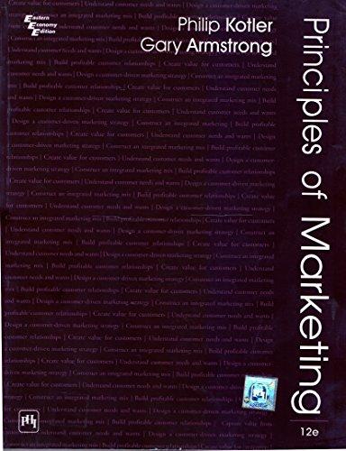 Principles of Marketing, 12th ed., Kotler &