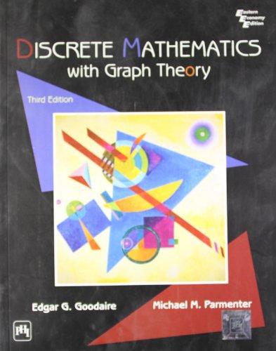 9788120332980: Discrete Mathematics with Graph Theory International Edition
