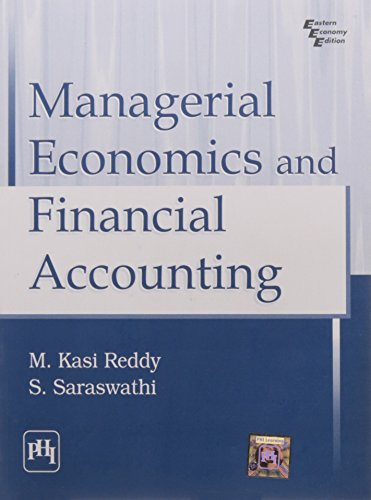 Managerial Economics And Financial Accounting: S. Saraswathi and
