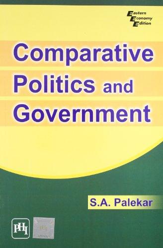 9788120333352: Comparative Politics and Government