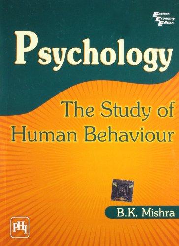 9788120333376: Psychology: the Study of Human Behaviour