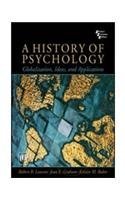 9788120333635: A History of Psychology: Globalization, Ideas, and Applications