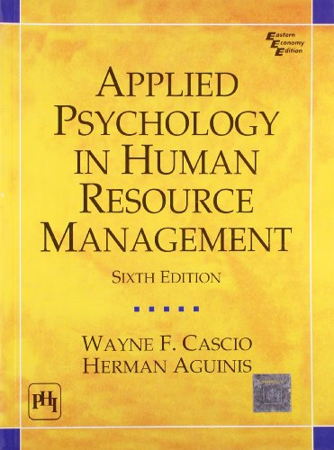 9788120333710: Applied Psychology in Human Resource Management