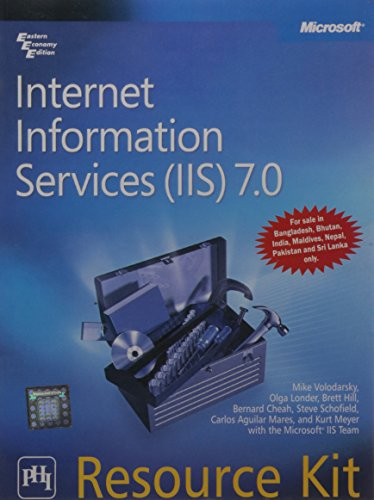 9788120335127: Internet Information Services (IIS) 7.0 Resource Kit