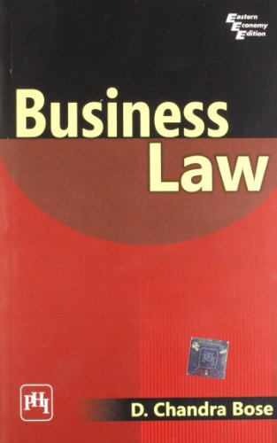 Business Law: D. Chandra Bose