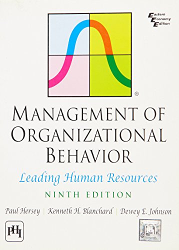 9788120335455: Management of Organizational Behavior: Leading Human Resources