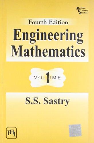 9788120336162: Engineering Mathematics: Volume 1