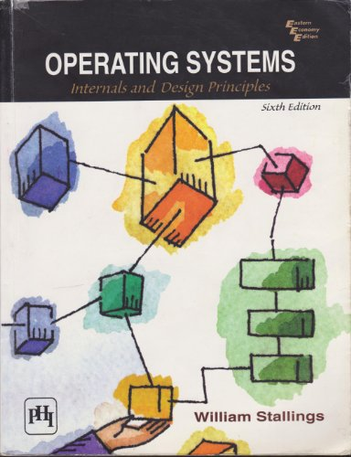 9788120336292: Operating Systems: Internals and Design Principles (6th Edition)