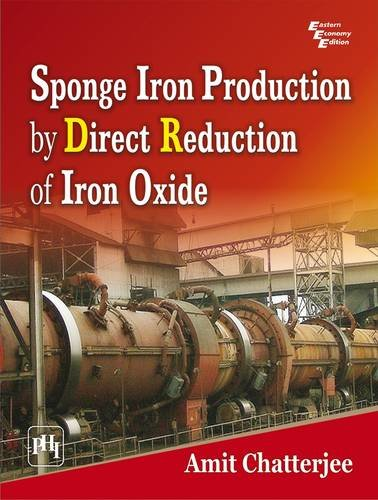 9788120336445: Sponge Iron Production by Direct Reduction of Iron Oxide
