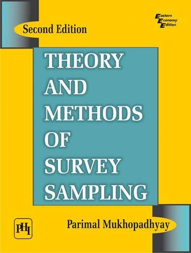 9788120336766: Theory and Methods of Survey Sampling