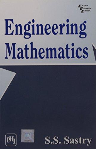 Engineering Mathematics for WBUT: S.S. Sastry