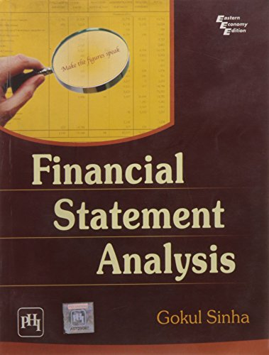 Financial Statement Analysis: Gokul Sinha