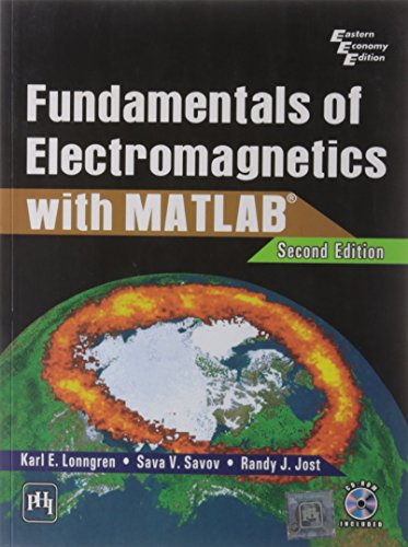 9788120337374: Fundamentals Of Electromagnetics 2nd Editionwith Matlab