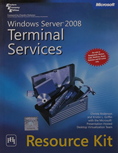 Windows Server 2008 Terminal Services Resource Kite: Et Al. Anderson
