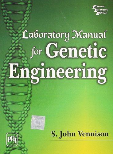 9788120338142: Laboratory Manual for Genetic Engineering