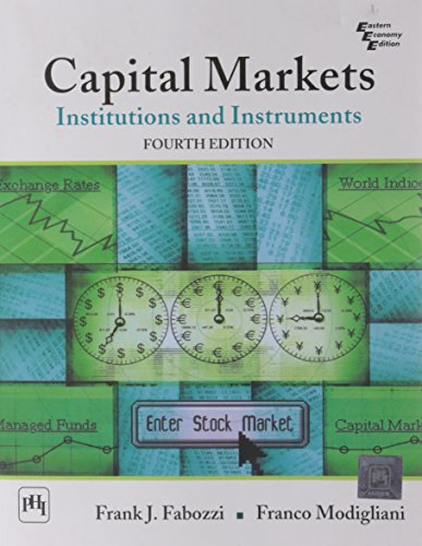 9788120338265: Capital Markets: Institutions and Instruments, 4th Edition