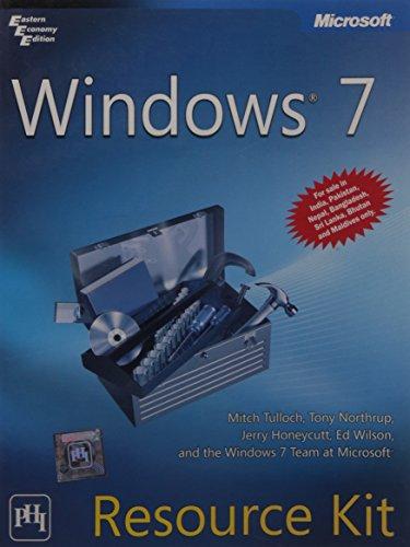 9788120338418: Windows 7 Resource Kit
