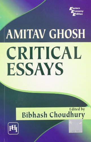 9788120338654: Amitav Ghosh: Critical Essays