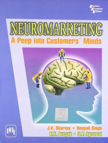 Neuromarketing: A Peep into Customer s Minds: Deepali Singh, Dr.