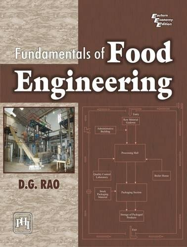 Fundamentals of Food Engineering: D.G. Rao
